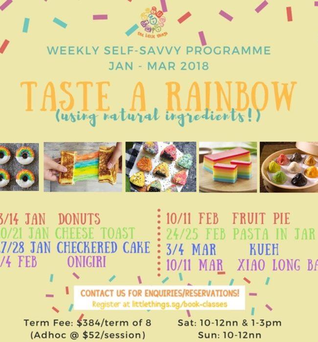 Jan 2018 Rainbow Poster